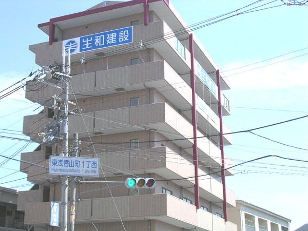 オートロック付きで一人暮らしも安心。大阪府堺市北区東浅香山町1丁