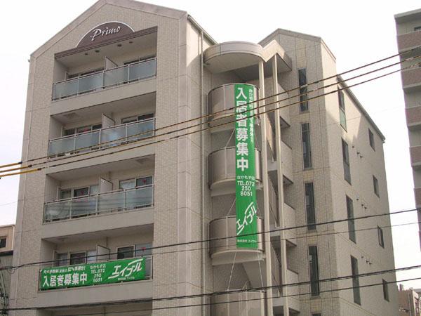 セキュリティにも配慮したマンションです。大阪府堺市北区中百舌鳥町2丁