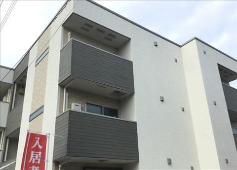 セキュリティを考慮したオートロック設備。大手施工会社の物件。大阪府堺市北区黒土町